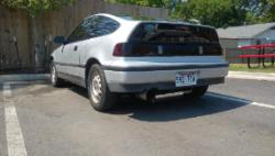 1989 Honda Civic CRX Base