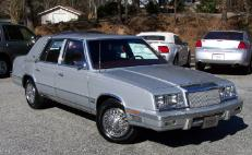 1987 Chrysler New Yorker Base