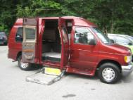 1999 Ford Econoline Cargo Van handicap Wheelchair Accessible