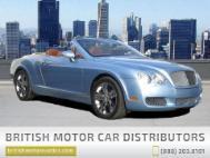 2008 Bentley Continental GTC Base