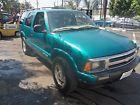1996 Chevrolet Blazer green