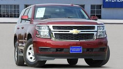 2017 Chevrolet Tahoe Fleet