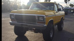 1978 Ford Bronco 2dr Wagon Custom