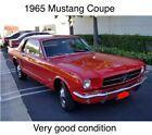 1965 Ford Mustang -CALIFORNIA PONY BLACK PLATE ORIGINAL-AUTOMATIC-NO