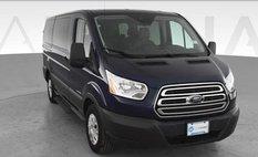 2015 Ford Transit Passenger XLT w/Low Roof w/Sliding Side Door Van 3D