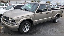 2000 Chevrolet S-10 Ext Cab 123