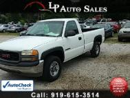 2002 GMC Sierra 2500 Base