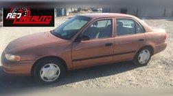 1998 Chevrolet Prizm 4dr Sdn