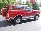 1991 Ford Bronco Silver Anniversary