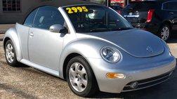 2003 Volkswagen New Beetle GLS 2.0L Convertible