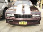 1987 Chevrolet Monte Carlo Maroon