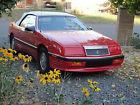 1989 Chrysler Le Baron Premium Convertible 2-Door